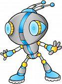 Cute Robot vector illustration