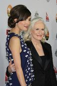 LOS ANGELES - JAN 12: Rose Byrne, Glenn Close at the 2013 G'Day USA Los Angeles Black Tie Gala at JW