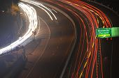Freeway Light Trails