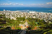 Bahai Gardens. Haifa, Israel
