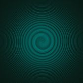 Turquoise spiral