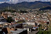 View Of Ecuadorian City