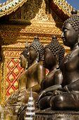 Buddha statues,Wat Phrathat Doi Suthep