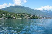 am Lago Maggiore in der Schweiz