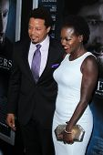 LOS ANGELES - SEP 12:  Terrence Howard, Viola Davis at the