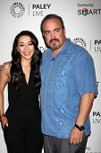 LOS ANGELES - SEP 12:  Aimee Garcia, David Zayas at the PaleyFest Fall Previews:  Fall Farwell-