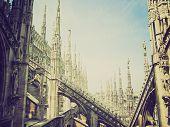 Retro Look Duomo, Milan