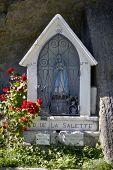 small religious statue