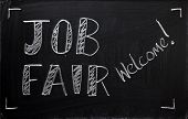 Job Fair Sign