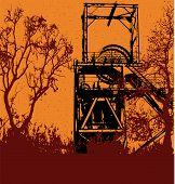 Grunge Colliery Background