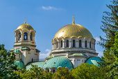 The St. Alexander Nevsky Cathedral in Sofia, Bulgaria