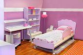Lilac Girl Bedroom