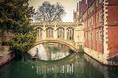 The Bridge of Sigh at Saint John's College, Cambridge