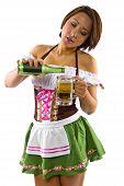 Octoberfest Waitress