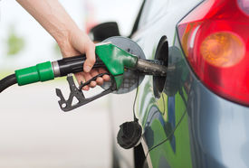 foto of fuel pump  - transportation and ownership concept  - JPG