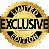 image of exclusive  - Limited edition exclusive golden label - JPG