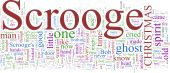 pic of scrooge  - A word cloud based on Dickens - JPG