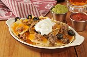 Shreded Beef Nachos