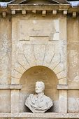 stock photo of newton  - bust of Isaac Newton - JPG