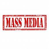 Mass Media-stamp
