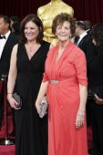 LOS ANGELES - MAR 2:: Philomena Lee, daughter  at the 86th Annual Academy Awards at Hollywood & High
