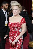 LOS ANGELES - MAR 2:: Bette Midler  at the 86th Annual Academy Awards at Hollywood & Highland Center