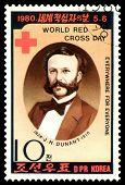 Vintage  Postage Stamp.  Doctor J. H. Dunant.
