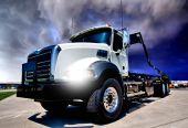 New Diesel Refuse Truck