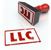 LLC Limited Liability Corporation Stamp Approved Application License
