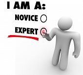 I Am an Expert Person Skilled Professional Expertise Experience
