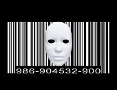 Mask with Bar code