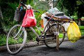 Bicycle & daily life Saigon