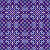 Seamless decorative pattern in a blue colors