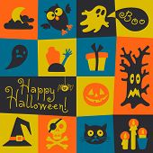 picture of happy halloween  - Happy Halloween card - JPG