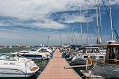 Port Of Modern Yachts And Boats