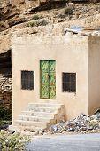 image of jabal  - Image of house on Saiq Plateau in Oman - JPG