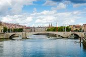 Bonaparte Bridge, Lyon, France