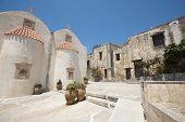 Moni Preveli Monastery In Crete. Greece