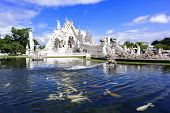 White Temple, White Fishes.