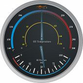 Gauge  Oil Temppresure
