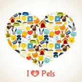 Pets care concept