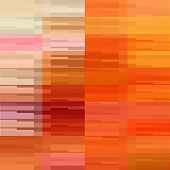 art abstract colorful geometric pattern; tiled background in gold, red and orange colors