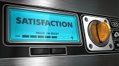Satisfaction on Display of Vending Machine.