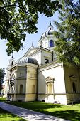 Church Of St. Anne In Wilanow In Warsaw, Poland