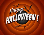 Movie still screen - Happy Halloween - Vector EPS10