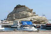 Reef On Coast Of Laganas In Greece