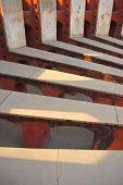Jantar Mantar Delhi Radials  Interior floor shadows portrait