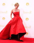 vLOS ANGELES - AUG 25:  January Jones at the 2014 Primetime Emmy Awards - Arrivals at Nokia at LA Li
