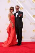 LOS ANGELES - AUG 25:  Lisa Rinna, Harry Hamlin at the 2014 Primetime Emmy Awards - Arrivals at Noki