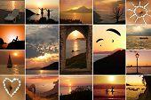 Collage - Sunset Mood